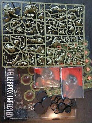 Gellerpox Infected Nurgle Kill Team + Codex Tokens & Cards Warhammer 40K
