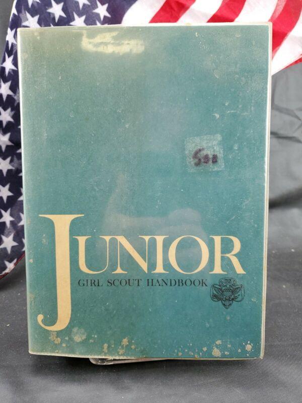 Junior Girl Scout Handbook 1967 Paperback