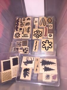 Large Rubber Stamp Collection