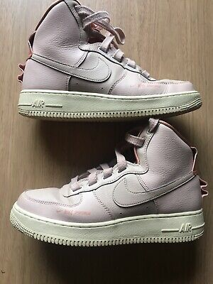 Nike Air Force 1 High Utility Particle Beige ( Pink ) AJ7311-200...