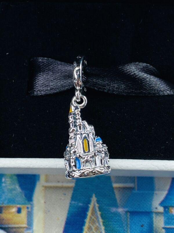 2021 Pandora Walt Disney World 50th Anniversary Cinderella Castle Charm