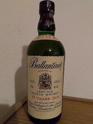 Ballantines 17 Years Old Scotch Whisky 43% ca.1970/80 750ml