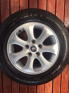 4x Standard Ve Omega Rims with Good Year Tyres Tea Tree Gully Tea Tree Gully Area Preview