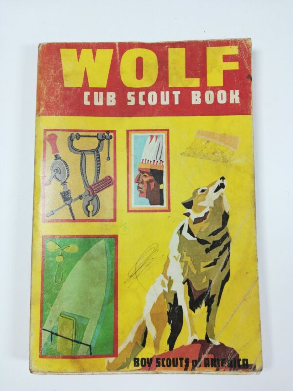 Wolf Cub Scout Book ~ Vintage Boy Scouts of America (BSA) Book ~ 1970 Printing