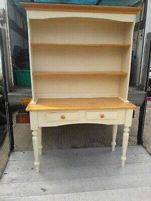 Very Nice  Kitchen Dresser Display Cabinet 2 drawers with bookshelf plate stand