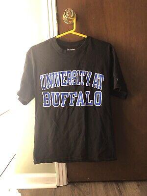 University At Buffalo Champion Shirt Bulls Size Medium