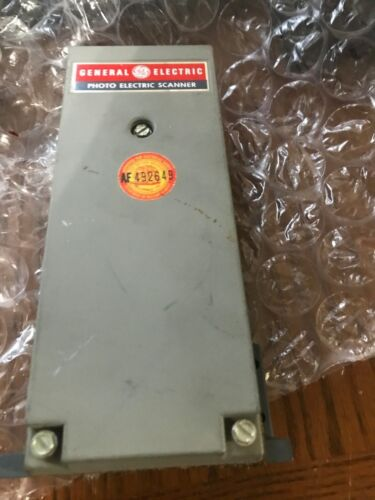 General Electric GE Reflex Photo Electric Scanner- Model # 3S7505PS510E6   NEW