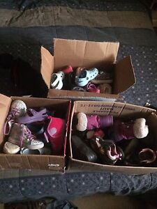 Baby girls clothes and shoes.EUC. $60