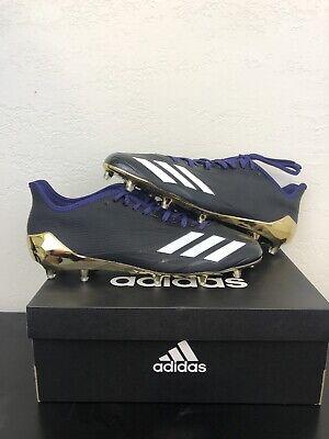 Adidas Adizero 5-Star 6.0 Football Cleats White Black Gold USA SZ 12 CG4231