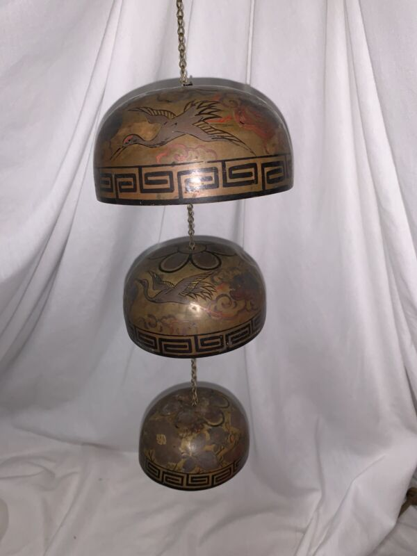 Antique Chinese Temple Bells