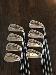 Taylormade RSi TP irons 3-PW stiff right hand