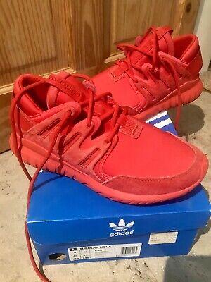 Adidas Tubular Nova UK 6.5 Red