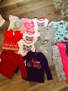 Big lot of size 3 to 4 girls tops some brand new