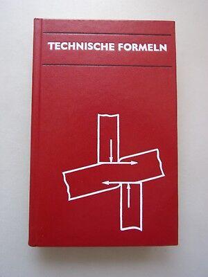Technische Formeln