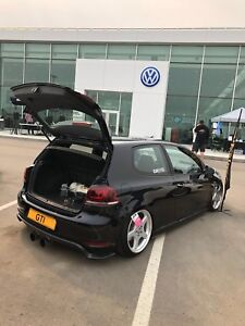 2010 VW Mk6 GT, manual, air suspension, tuned