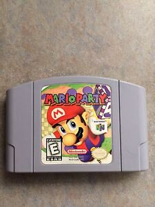 Mario Party N64 Game