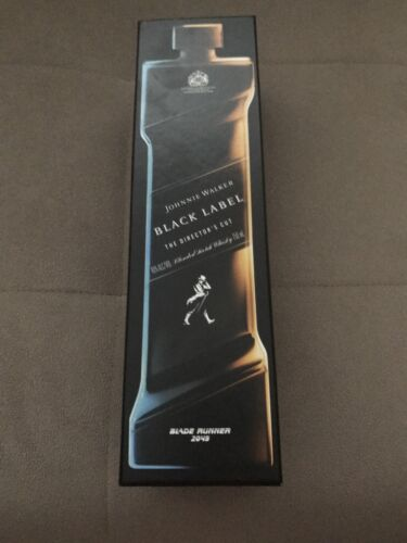 Johnnie Walker Black Label Directors Cut Blended Scotch Whisky Blade Runner 2049