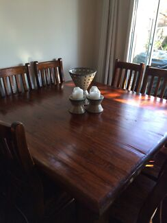 Black Wood Dining Table with 8 Chairs Canterbury Canterbury Area Preview