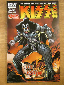 KISS-SOLO-1-The-Demon-Gene-Simmons-Jetpack-Comics-Exclusive-cover-RARE-htf-IDW