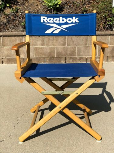 REEBOK Authentic Rare Vintage 1990s Director Chair Collector