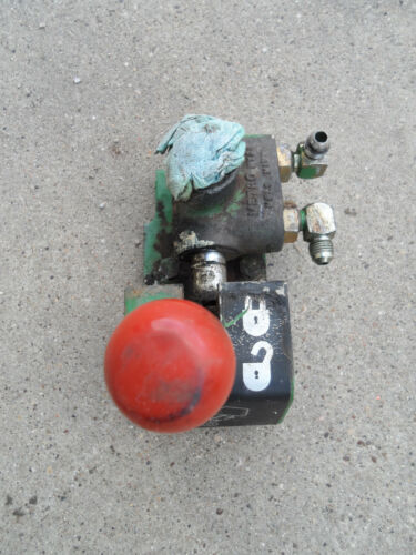 Vintage Single 1 Spool Hydraulic Control Valve Metro Hyde John Deere Tractor