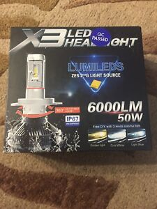 LED 9012 bulbs brand new with tinting kit