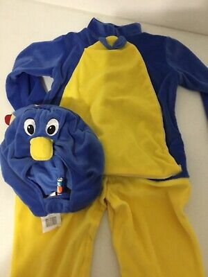 Backyardigans Halloween Costume Baby (Child's Backyardigans Pablo Deluxe Child Halloween Costume Size 3T-4T)
