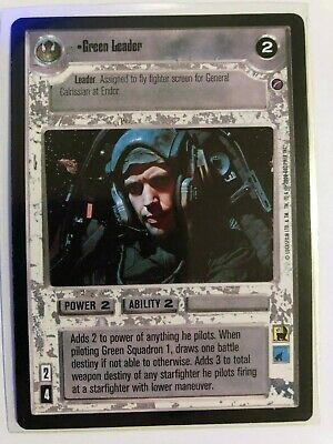 Star Wars CCG Jedi Pack Gold Leader In Gold 1 NrMint-MINT SWCCG