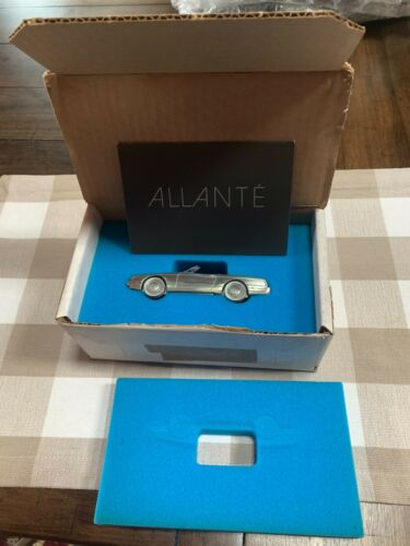 Introductory Issue 1987 Cadillac Allante Pewter Promotional Model
