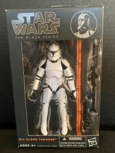 Star Wars Black Series 6 Inch # 14 Clone Trooper
