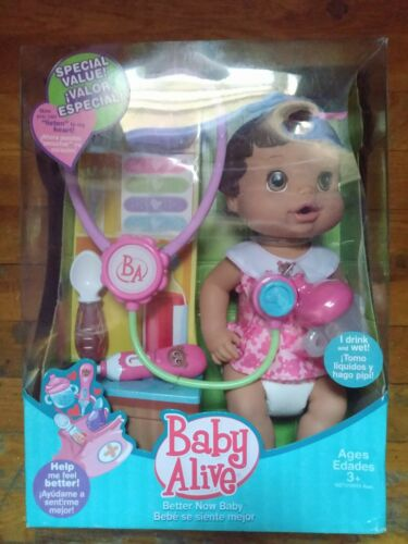 "HASBRO BABY ALIVE ""BETTER NOW BABY"" RARE NEW NICE**L@@K**"
