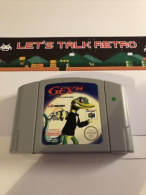 Gex 64 Enter The Gecko Nintendo N64 PAL Cart Only TESTED