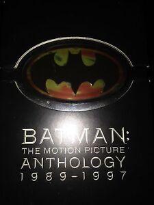 Batman: The Anthology 1989-1997 DVDs