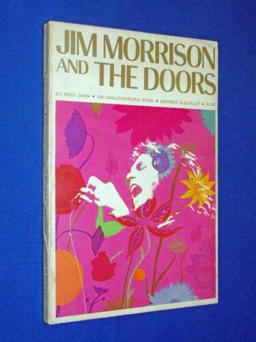 RARE 1969 Jim Morrison & The Doors Mike Jahn 1st Ed Krieger Manzarek Densmore