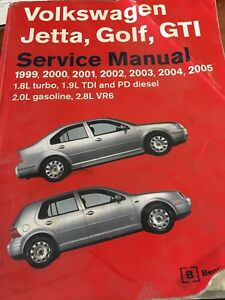 Volkswagen Jetta/golf/gti service manual