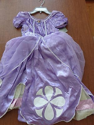 NWT Disney Store Sofia the First cameo costume halloween 9 10 dress up fluffy - Halloween Costumes Sofia The First