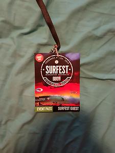 Free 2 x vip surfest tickets Heddon Greta Cessnock Area Preview