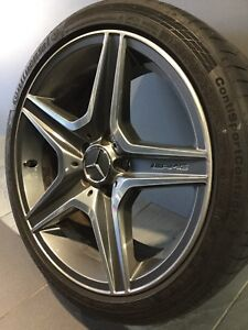 """MERCEDES C63 AMG 18"""" GENUINE ALLOY WHEELS AND TYRES Carramar Fairfield Area Preview"""