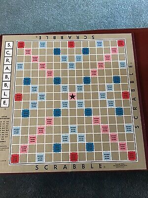 An Original Folding Scrabble Replacement Game Board From the 1970's EUC