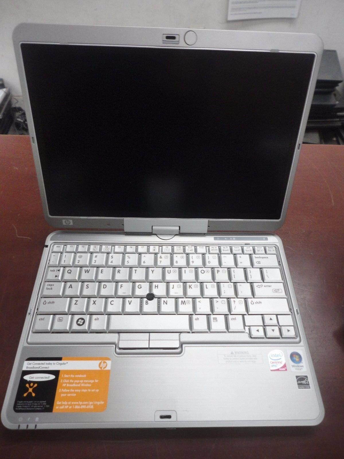 LOT 5 HP Compaq 2710p Core 2 Duo 1.20GHz 2GB WiFi Touchscreen Tablet Stylus Pen