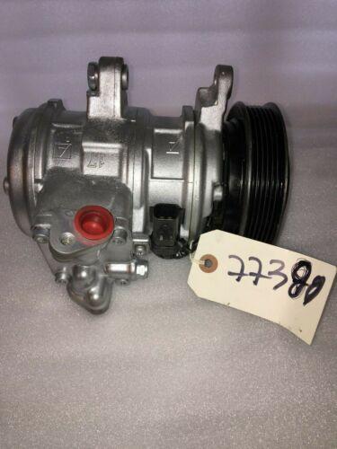 Remanufactured Air Conditioning Compressor 77380 In Good Condition - Aluminum