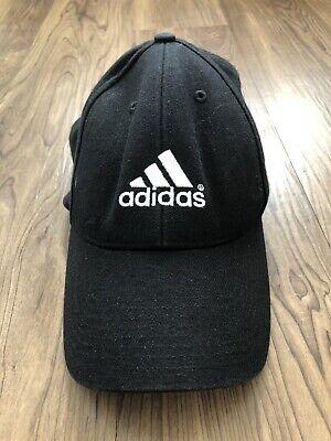 Adidas Black Logo Baseball Hat/Cap One Size
