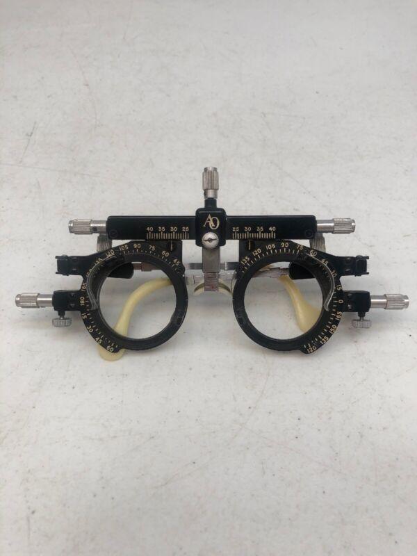 Pair Of Vintage American Optical Co. Optometrist Trial Eyeglass Spectacle Frames