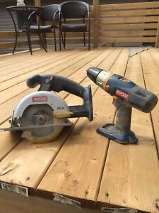Cordless Saw and Drill