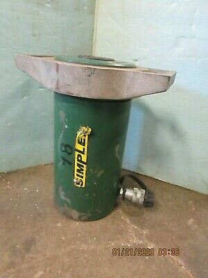 Simplex Hydraulic Cylinder R-1006 100 Ton 6 Inch Stroke