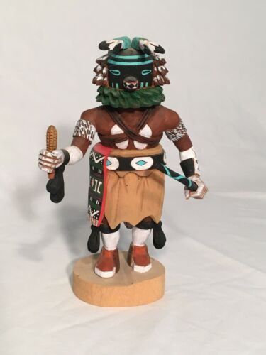 Kachina doll Squirrel by Lester B.