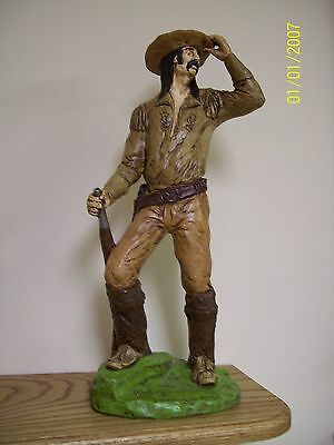 Asian Union Pacific R.R.scout Statue -Hand painted -  xmas sale 10 to 50 % off