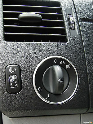 Mercedes Sprinter W906 Aluring Alu Lichtschalter AMG KASTEN KOMBI PRITSCHE