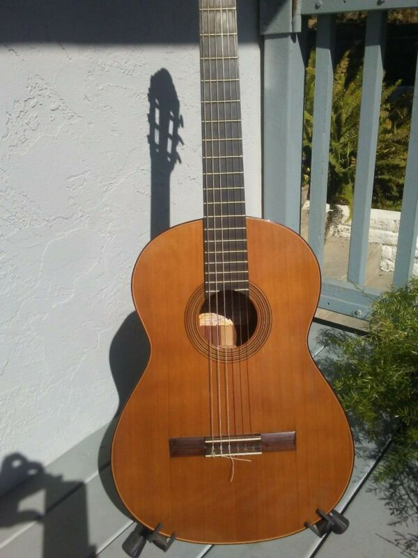 Salvador Castillo classical guitar 2001 cedar / palo escrito (Mexican rosewood)