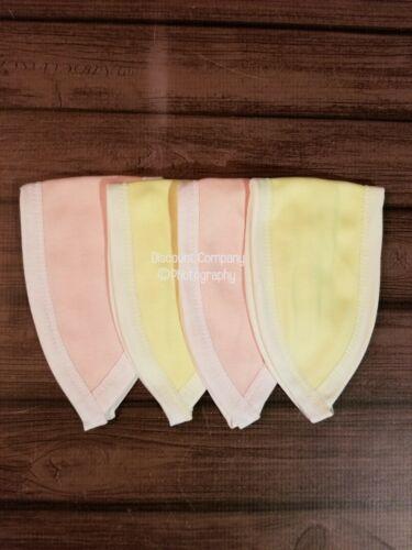 4Pcs Baby Girl Newborn Umbilical Cord Belly Band Fajeros de Bebé Recién nacido